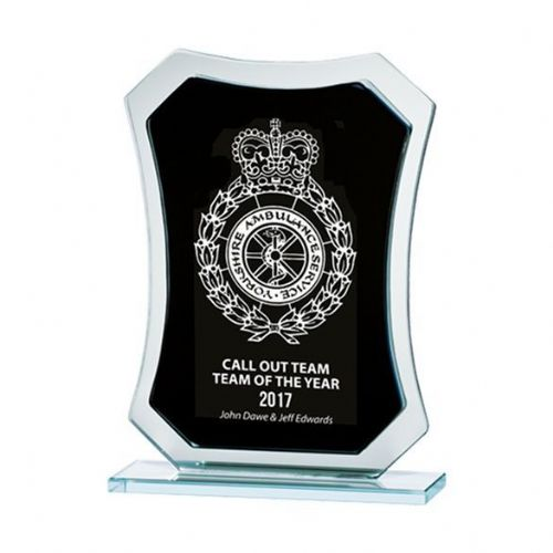 Phantom Mirror Award Black & Silver 165mm